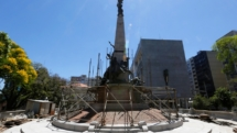 Restauro do Monumento da Praça da Matriz entra na fase final